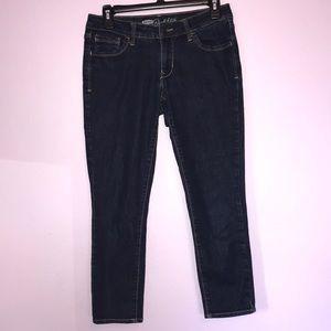 Old Navy Rockstar Capri Jeans